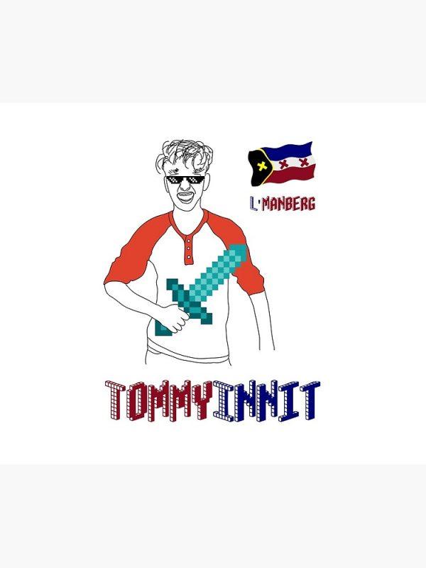 artwork Offical TommyInnit Merch