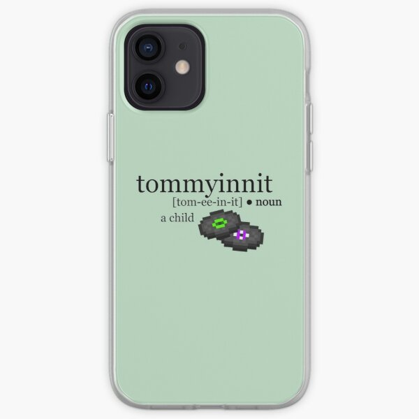 tommyinnit definition iPhone Soft Case RB2805 product Offical TommyInnit Merch