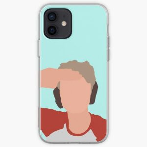 Tommyinnit dropart (salut) iPhone Soft Case RB2805 product Offical TommyInnit Merch