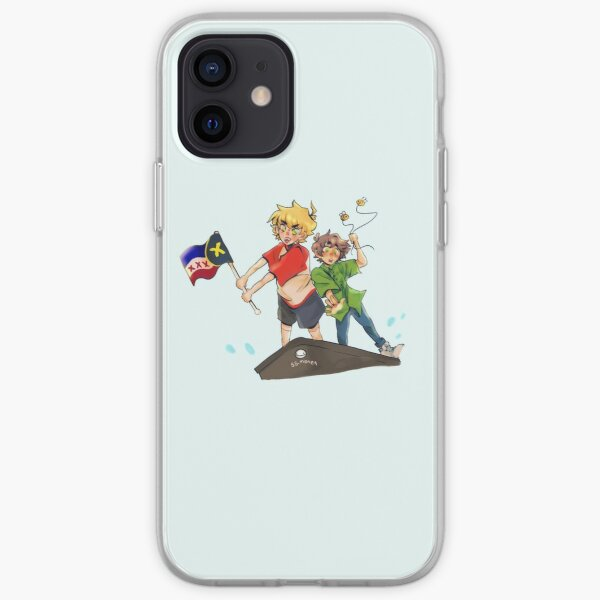 tommyinnit and tubbo iPhone Soft Case RB2805 product Offical TommyInnit Merch