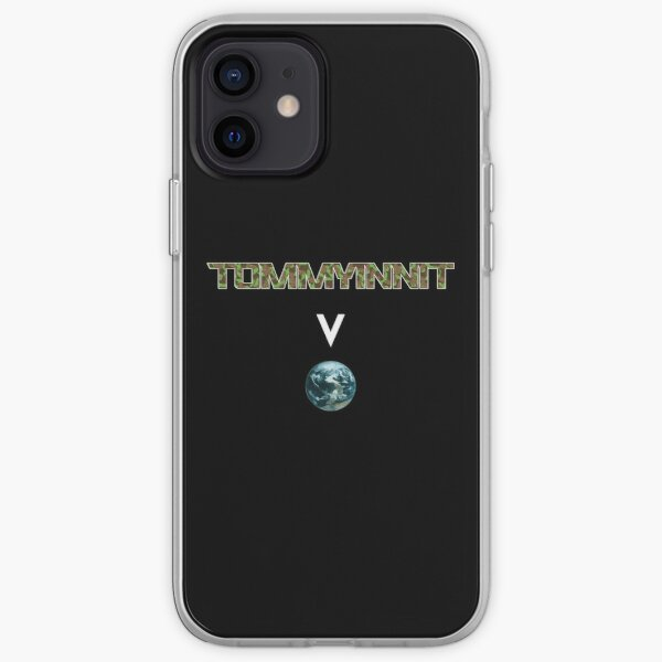 Tommyinnit above the world - Minecraft iPhone Soft Case RB2805 product Offical TommyInnit Merch