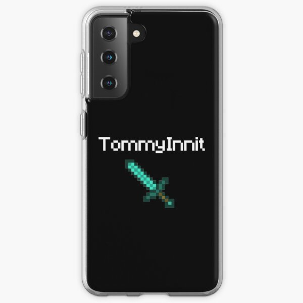 TommyInnit - White Samsung Galaxy Soft Case RB2805 product Offical TommyInnit Merch