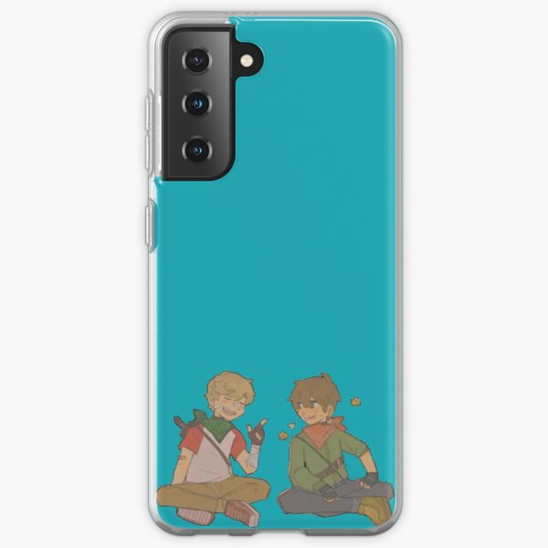 Tommyinnit and Tubbo merch (updated) Samsung Galaxy Soft Case RB2805 product Offical TommyInnit Merch