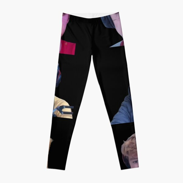 Tommyinnit Faces Dream Team Leggings RB2805 product Offical TommyInnit Merch