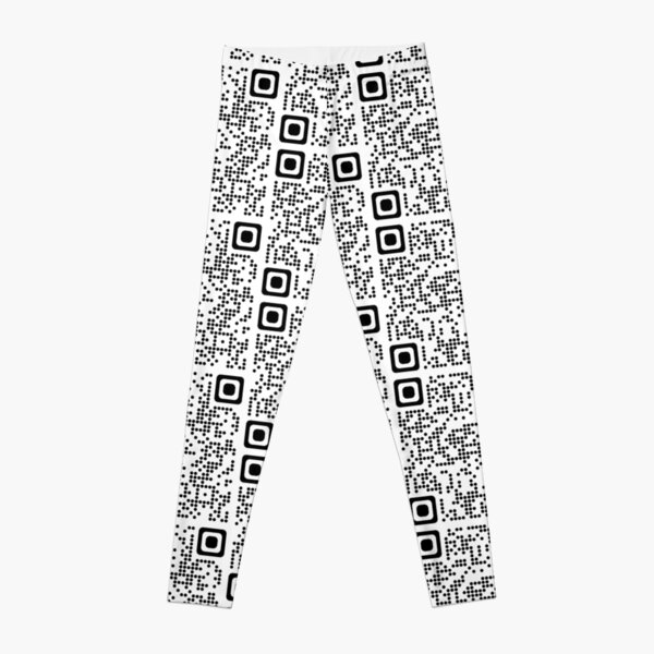 TommyInnit jump in the cadillac qr code Leggings RB2805 product Offical TommyInnit Merch