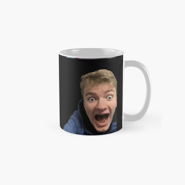 Tommyinnit Faces Dream Team Classic Mug RB2805 product Offical TommyInnit Merch