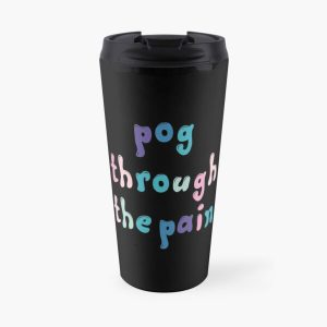 tommyinnit : pog through the pain Travel Mug RB2805 product Offical TommyInnit Merch
