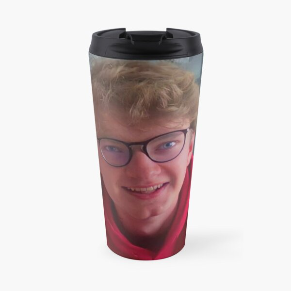 TommyInnit in Glasses Travel Mug RB2805 product Offical TommyInnit Merch