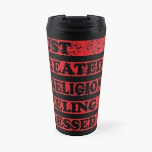 Just Created a Religion Feeling Blessed | Tommyinnit V3 Travel Mug RB2805 product Offical TommyInnit Merch