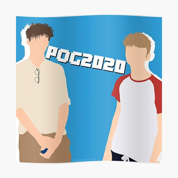 TommyInnit TommyInnit Pog Poggers Minecraft Dream Team Gaming Sticker Alt Poster RB2805 product Offical TommyInnit Merch
