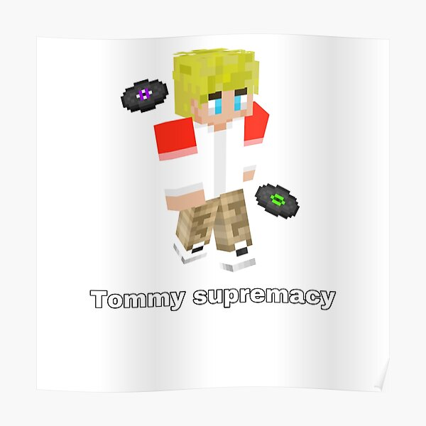 Tommyinnit supremacy  Poster RB2805 product Offical TommyInnit Merch