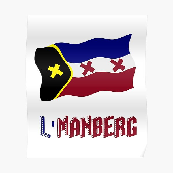 TommyInnit flag LManberg Poster RB2805 product Offical TommyInnit Merch