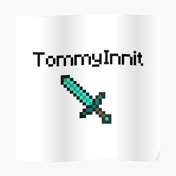TommyInnit Poster RB2805 product Offical TommyInnit Merch