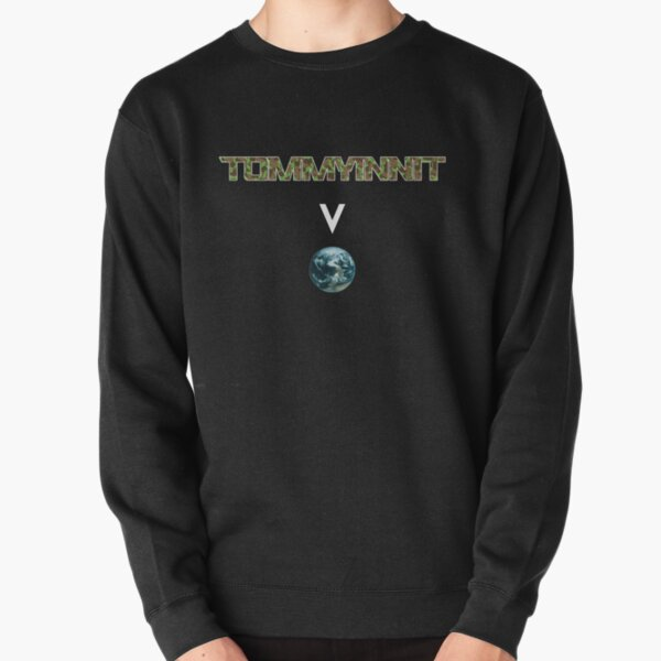 Tommyinnit above the world - Minecraft Pullover Sweatshirt RB2805 product Offical TommyInnit Merch