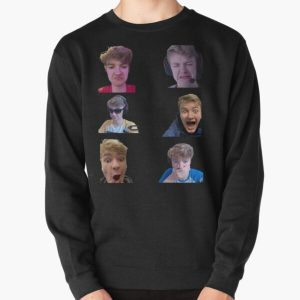 Tommyinnit Faces Dream Team Pullover Sweatshirt RB2805 product Offical TommyInnit Merch