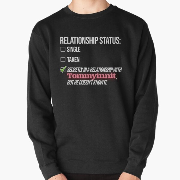 Relationship with Tommyinnit Pullover Sweatshirt RB2805 product Offical TommyInnit Merch