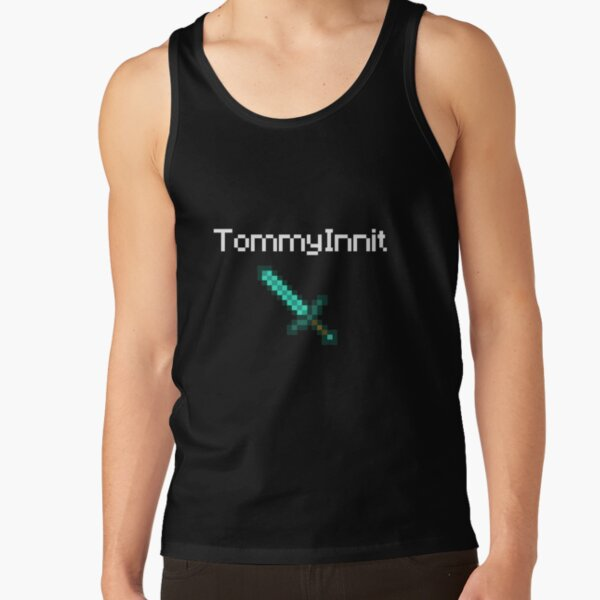 TommyInnit - White Tank Top RB2805 product Offical TommyInnit Merch