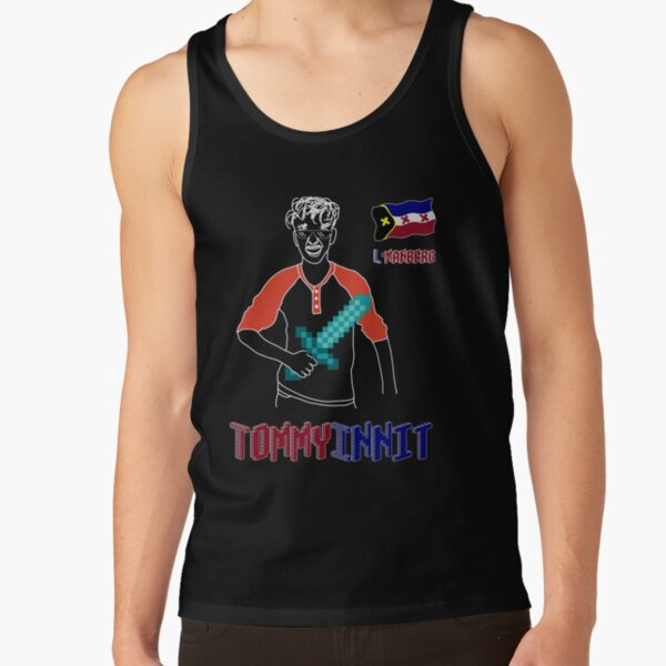 TommyInnit Tank Top RB2805 product Offical TommyInnit Merch
