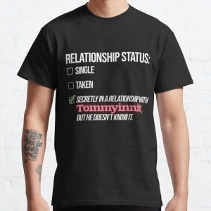 Relationship with Tommyinnit Classic T-Shirt RB2805 product Offical TommyInnit Merch