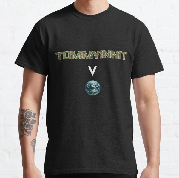 Tommyinnit above the world - Minecraft Classic T-Shirt RB2805 product Offical TommyInnit Merch