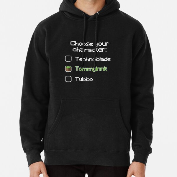 Choose your character - Tommyinnit Pullover Hoodie RB2805 product Offical TommyInnit Merch