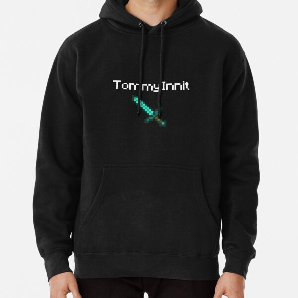 TommyInnit - White Pullover Hoodie RB2805 product Offical TommyInnit Merch