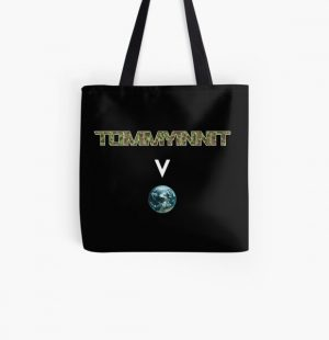 Tommyinnit above the world - Minecraft All Over Print Tote Bag RB2805 product Offical TommyInnit Merch