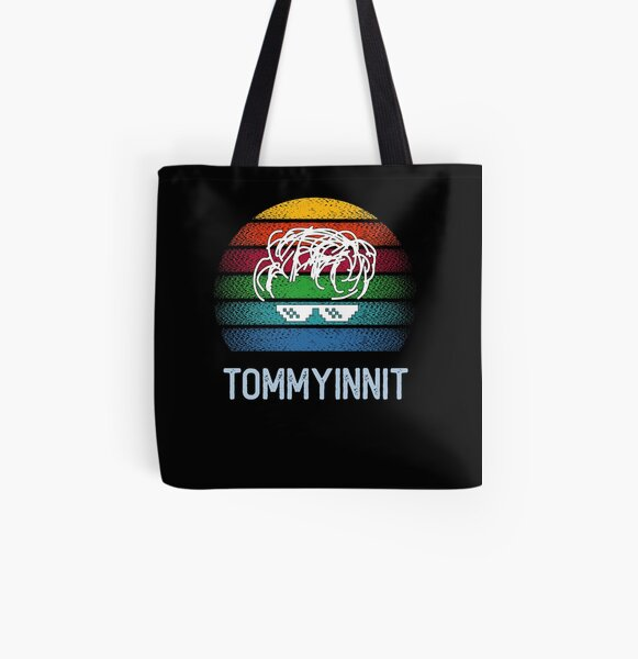 Tommyinnit All Over Print Tote Bag RB2805 product Offical TommyInnit Merch