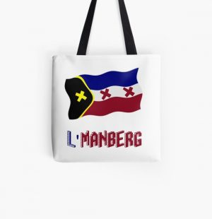 TommyInnit flag LManberg All Over Print Tote Bag RB2805 product Offical TommyInnit Merch