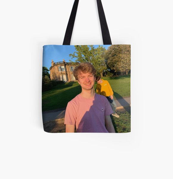 TommyInnit with Tubbo All Over Print Tote Bag RB2805 product Offical TommyInnit Merch