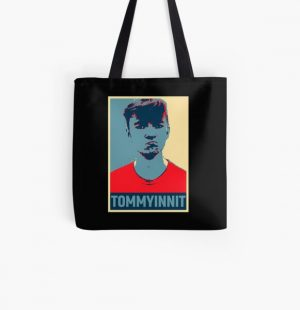 Tommyinnit Hope All Over Print Tote Bag RB2805 product Offical TommyInnit Merch