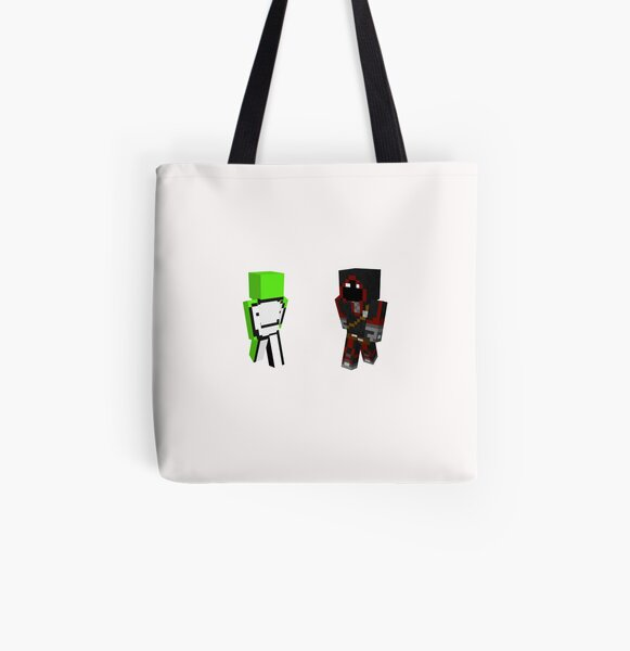 Gamming Tommyinnit dream and BadBoyHalo,TommyOutit fuuny All Over Print Tote Bag RB2805 product Offical TommyInnit Merch