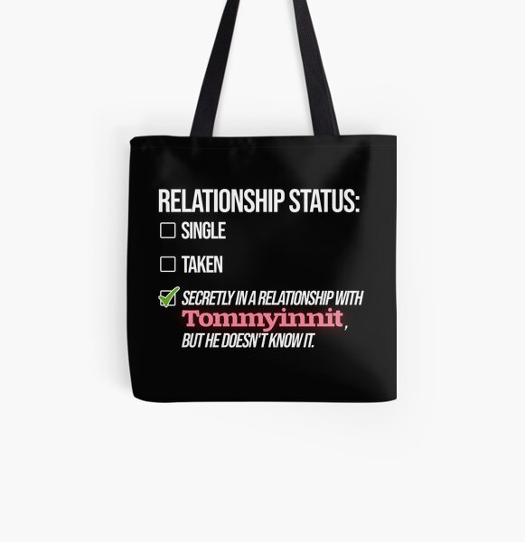 Relationship with Tommyinnit All Over Print Tote Bag RB2805 product Offical TommyInnit Merch