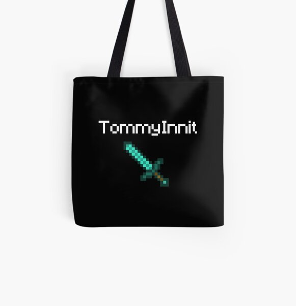 TommyInnit - White All Over Print Tote Bag RB2805 product Offical TommyInnit Merch