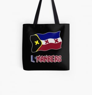 TommyInnit Flag All Over Print Tote Bag RB2805 product Offical TommyInnit Merch