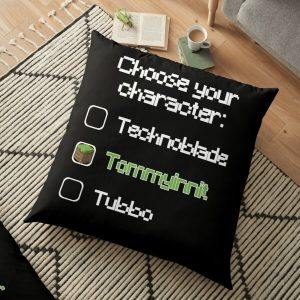 Choose your character - Tommyinnit Floor Pillow RB2805 product Offical TommyInnit Merch