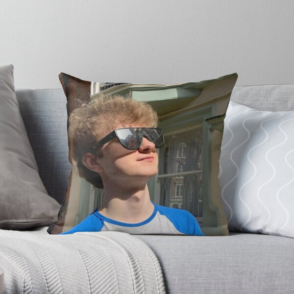 TommyInnit Throw Pillow RB2805 product Offical TommyInnit Merch