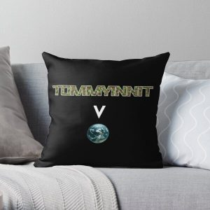 Tommyinnit above the world - Minecraft Throw Pillow RB2805 product Offical TommyInnit Merch