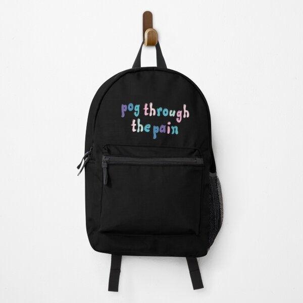 tommyinnit : pog through the pain Backpack RB2805 product Offical TommyInnit Merch