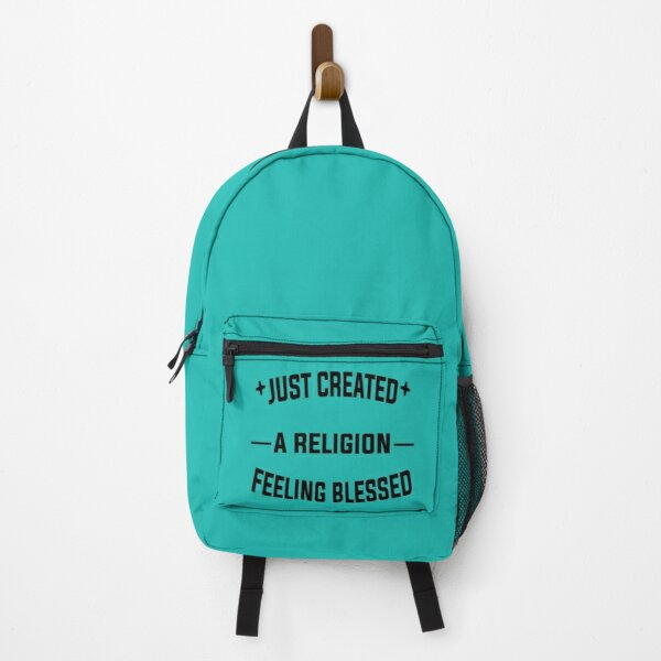 Just Created a Religion Feeling Blessed   Tommyinnit V2 Backpack RB2805 product Offical TommyInnit Merch
