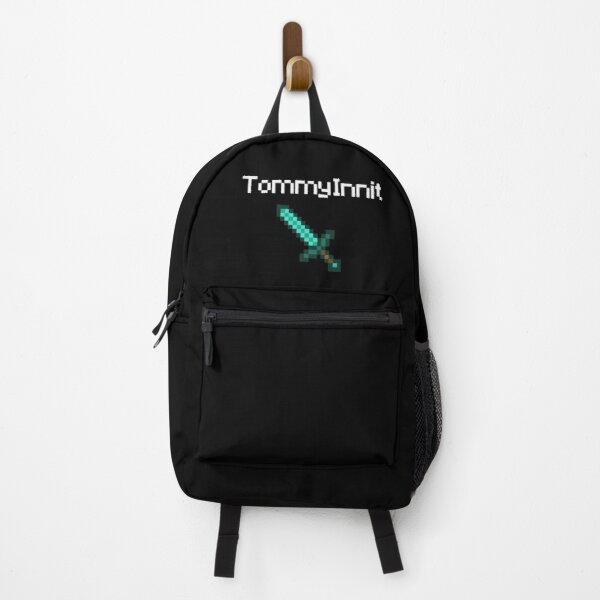 TommyInnit - White Backpack RB2805 product Offical TommyInnit Merch