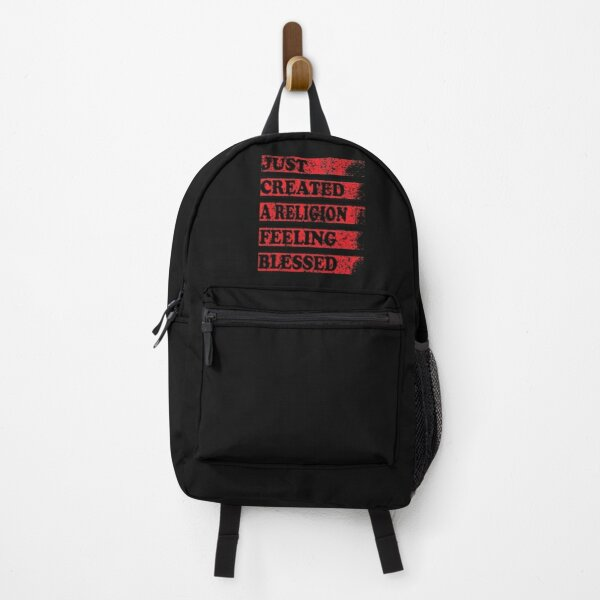 Just Created a Religion Feeling Blessed   Tommyinnit V3 Backpack RB2805 product Offical TommyInnit Merch