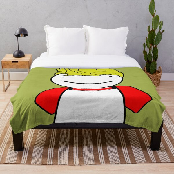 Tommyinnit Dream In The Room  Throw Blanket RB2805 product Offical TommyInnit Merch