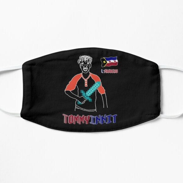 TommyInnit Flat Mask RB2805 product Offical TommyInnit Merch
