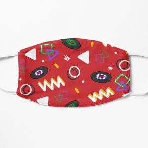 Tommyinnit inspired bowling alley carpet Flat Mask RB2805 product Offical TommyInnit Merch