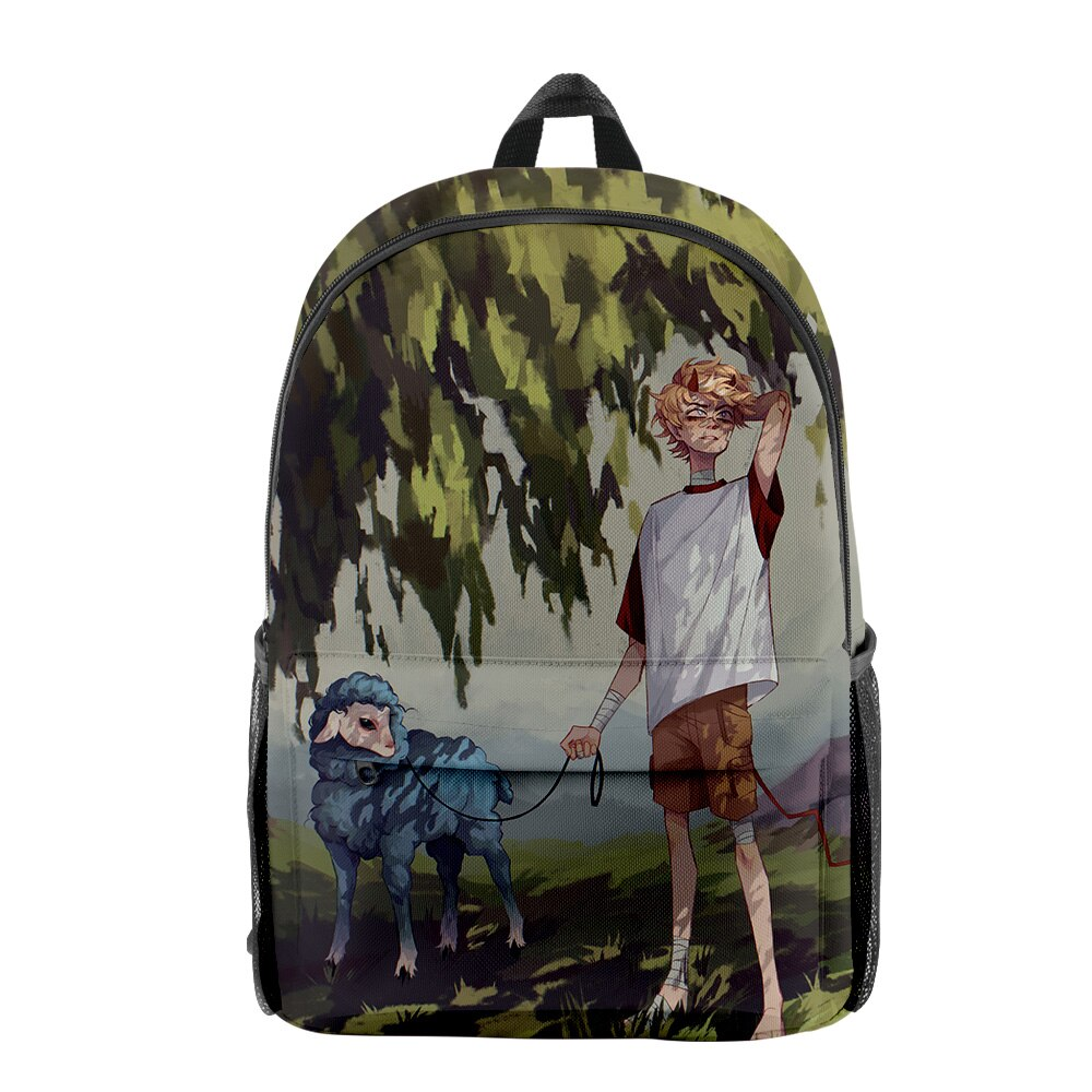 2021 Dream SMP Tommyinnit Men Women Backpack Fabric Oxford School Bag Simple High Capacity Teenager Girls 5 - TommyInnit Shop
