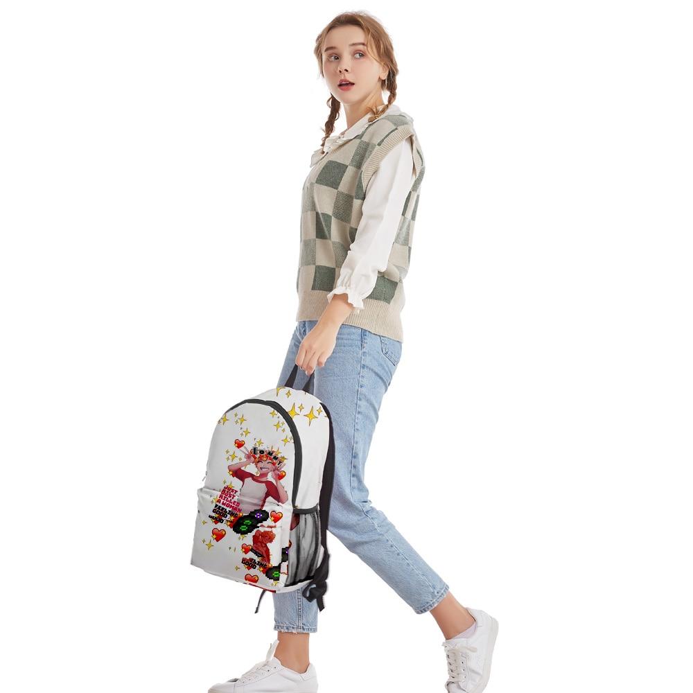 2021 Dream SMP Tommyinnit Men Women Backpack Fabric Oxford School Bag Simple High Capacity Teenager Girls 3D Bag Travel Backpack